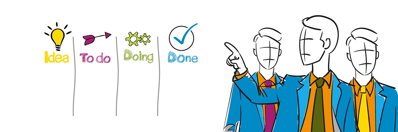 businessmen process success